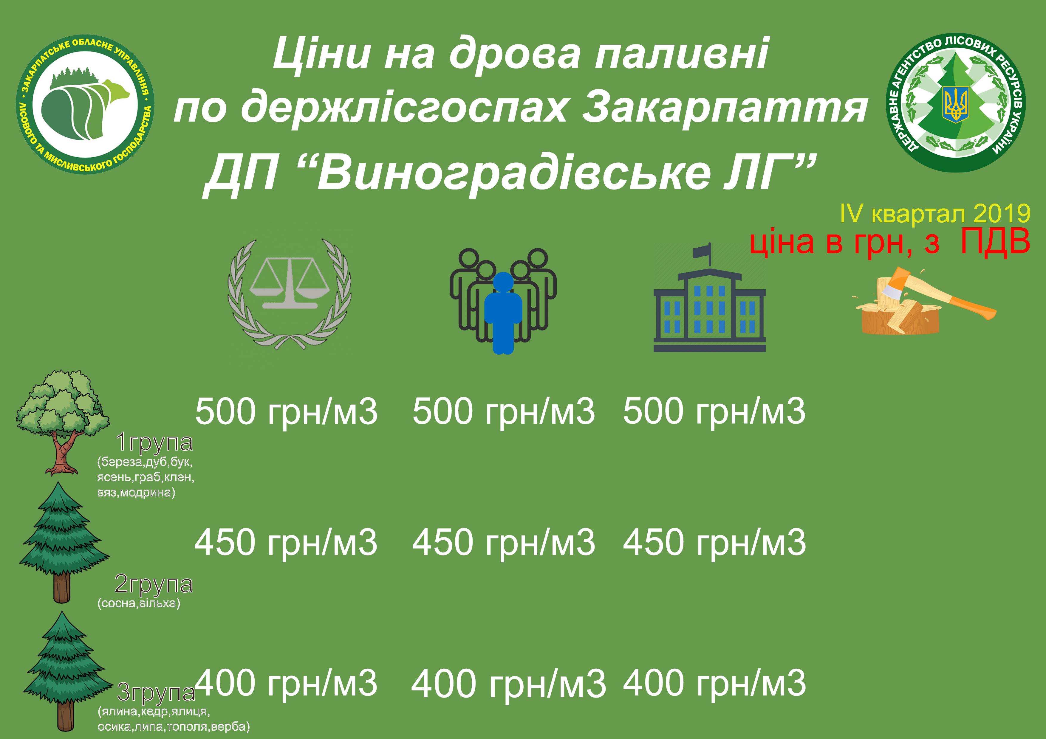 """ДП """"Виноградівське ЛГ"""""""