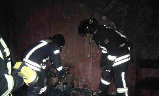 На пожежі в Перечині двоє людей отруїлися чадним газом