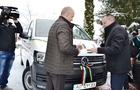 Ще один подарунок від Угорщини - новий мікроавтобус для обласного будинку дитини