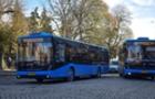 В Ужгороді нові автобуси вийшли на рекордно довгий маршрут