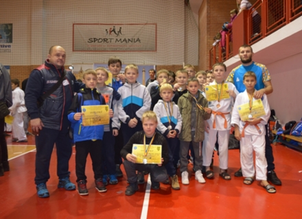 Юні ужгородські дзюдоїсти успішно виступили на турнірі в Румунії