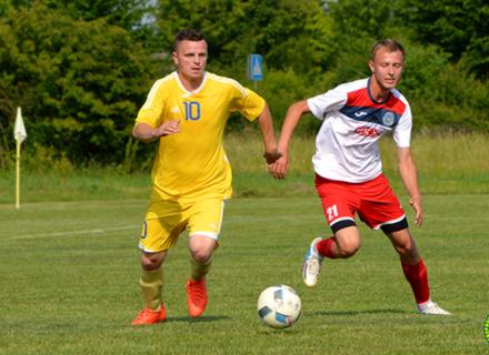 У Першій лізі облчемпіонату відбувся 8-й тур