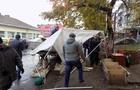 В Ужгороді муніципали розігнали несанкціонований ринок