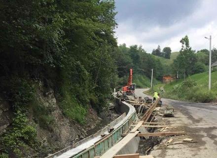 На Закарпатті майже до підніжжя Говерли роблять капітальний ремонт дороги