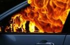 У Сваляві вщент згорів автомобіль (ВІДЕО)