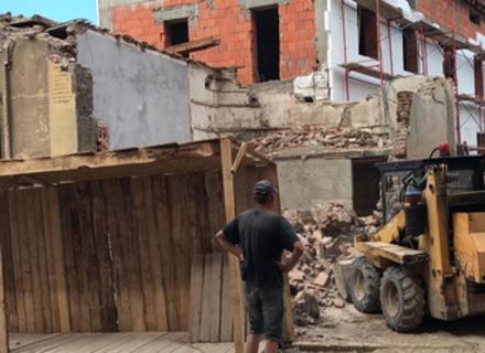 Історія знищення легендарного магазину Фунданича в Ужгороді