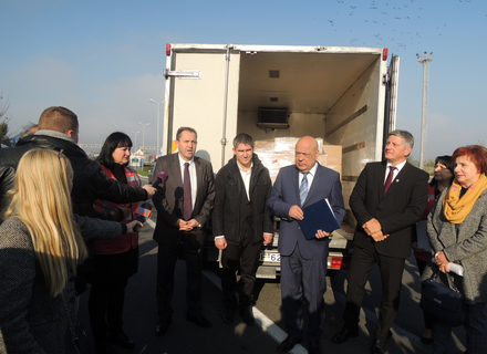 На Закарпаття з Угорщини прибули вакцини на суму понад 5 млн. грн