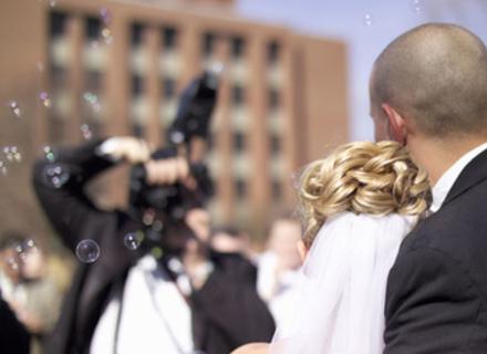 Ах эти волнительные мгновения свадьбы…