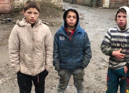 У Виноградові малолітні цигани зруйнували бетлегем