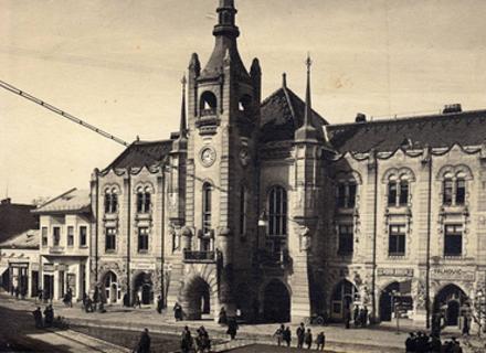 За чиїм проектом будували перлину Мукачева - міську Ратушу