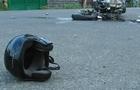 На Хустщині мотоцикліст врізався в Мерседес
