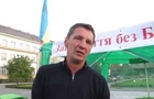 В Ужгороді активіст-маргінал Данацко увірвався в прокуратуру з палкою (ВІДЕО)