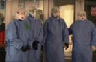 Із Закарпатської обласної лікарні вивезли на утилізацію першу вантажівку використаних захисних засобів (ВІДЕО)