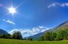 На Закарпатті встановилася тривала сонячна погода