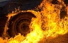 В Ужгороді опівночі згорів Крайслер
