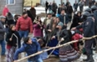 У Берегові сталася масова бійка між циганами