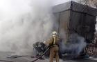 На Свалявщині під часу руху загорілася вантажівка