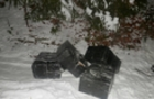 Закарпатські контрабандисти кинули біля румунського кордону дві тисячі пачок сигарет