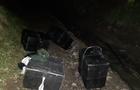 Закарпатські прикордонники виявили крупну контрабанду біля держкордону з Румунією. Затримано контрабандиста