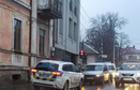 В Ужгороді зіштовхнулися два мінівена