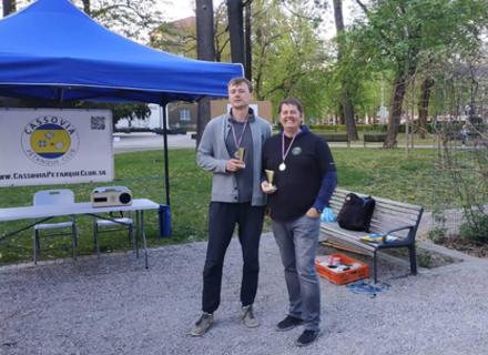 Абсолютна перемога: Ужгородські петанкісти в Словаччині яскраво перемогли місцевий клуб