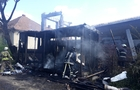 Пожежа, яка налякала мукачівців: Згорів будівельний вагончик