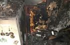 В Ужгороді на пожежі в багатоповерхівці ледь не згоріла 34-річна жінка