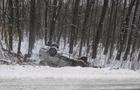 Аварія біля Мукачева: автомобіль перекинувся на дах, постраждалі - в реанімації (ФОТО)
