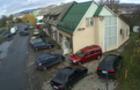 В Ужгороді автівка влетіла у парковку (ВІДЕО)