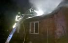 На Тячівщині сталася пожежа в житловому будинку