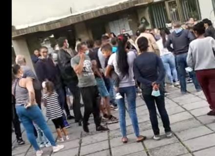 В Ужгороді цигани заблокували засідання ТВК і змусили комісію зареєструвати партнерську партію мера (ВІДЕО)