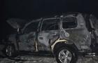У найбагатшому селі Закарпаття спалили автомобіль Toyota Land Cruiser.