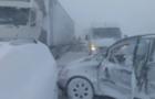 У сусідів Закарпаття через негоду сталася аварія за участі 35 автомобілів