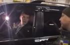 П'ятеро на одного: Оприлюднено відео затримання дипломата, який віз контрабанду (ВІДЕО)