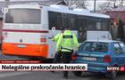 У Словаччині поліція перевіряла всі автомобілі із Закарпаття вже за межами КПП (ВІДЕО)