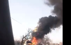 На околиці Ужгорода зранку згорів автомобіль (ВІДЕО)