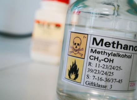 Про небезпеку метанолу. Перша допомога і прості способи розпізнати отруту