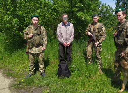 На Березнянщині затримали росіянина, який хотів незаконно перетнути кордон