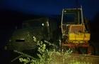 На Рахівщині прикордонники затримали вночі двох осіб, які незаконно видобували піщано-гравійну суміш