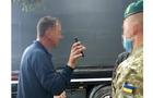 Закарпатські прикордонники вгамовували п'яного водія вантажівки на пункті пропуску Дякове