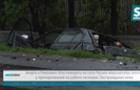 У Ракошині мікроавтобус збив Шкоду в кювет (ВІДЕО)