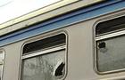 В Ужгороді цигани розбивають камінням вікна електричок