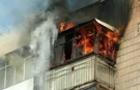 В Ужгороді горіла квартира в багатоповерхівці