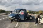 Між Ужгородом та Мукачевом зіткнулися два автомобіля