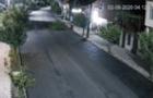 В Іршаві невідомий чоловік посеред вулиці зрізав сакуру (ВІДЕО)