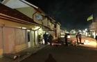У Мукачеві згорів торговий павільйон