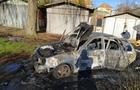 У Берегові вщент згорів автомобіль