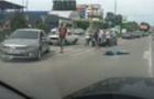 В Ужгороді на пішохідному переході автомобіль КАМАЗ збив жінку (ФОТО, ВІДЕО))