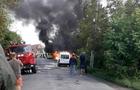 На Виноградівщині на ходу загорівся автомобіль (ВІДЕО)