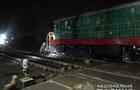 На Виноградівщині на переїзді потяг врізався в автомобіль